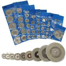 10PCS discos de diamante de corte de rueda +2 Hojas De Herramienta Rotativa Dremel Arbor Eje (141)
