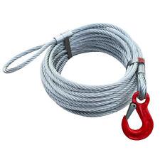 Chokerseil 12mm Forstseil Seil 1 x Schlaufe 1 x Stahlendklemme 1 x Chokerhaken