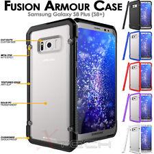 Samsung Galaxy S8 Plus [Fusion Armour] Premium Slim Hybrid Protective Case Cover