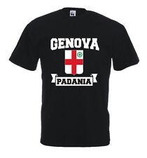 Maglia J504 Genova Lega Nord Liguria T-shirt Padania Genoa Supporter Ultras