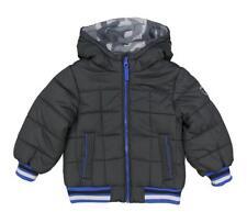 Osh Kosh B'GOSH Bebé Niño Oscuro Gris y azul Abrigo Acolchado Talla 12meses