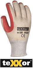 RED WONDER von teXXor® Arbeitshandschuh Handschuh Garten Pflastern Gerüst 2205