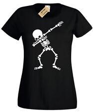 DABBING SKELETON T-Shirt Womens dab ladies top