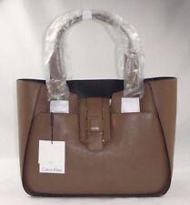 Calvin Klein Smooth Leather Shopper Bag