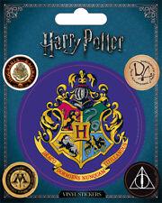 Harry Potter Hogwarts Vinyl Stickers 5 Piece J. K. Rowling Voldemort Hermione