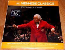 Arthur Fiedler  Boston Pops   Viennese Classics  1980 Time Life Vinyl LP  Sealed