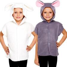 Animal Felpa con cappuccio Bambini Costume Fattoria Zoo creatura Ragazzi Ragazze Per Bambini Costume Nuovo