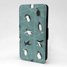 Penguin Pattern Flip Case Cover For Apple iPod - S3150