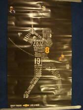 """VINTAGE POSTER 2001 chevy Trucks CAL RIPKEN JR Orioles HOF Legend 39"""" x  22"""""""