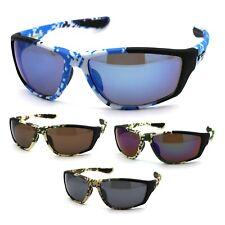 Xloop Digital Camouflage Warp Sport Mens Sunglasses