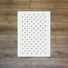 Polka Dots Reusable Plastic Stencil