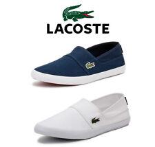 LACOSTE Sneaker uomo, Marice BL 2 CAM, Blu Scuro O Bianco, tela, casual appartamenti