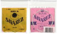 Savarez 520R Rectified Nylon High Tension Classical Guitar Strings.