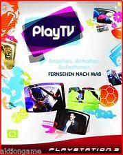 PS3 PLAY TV HD DVBT 2  Festplatten Decoder*SPEICHERN+ANHALTEN+TV NACH MAß