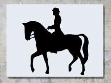 Equitación Mascota Animal Rider Pared Arte Calcomanía Adhesivo imagen