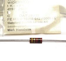20x Vintage Widerstand 2 kOhm, 1W, für Röhrenverstärker