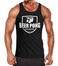 Uomo CANOTTA Beer Pong Champion frase SERBATOIO moonworks ®