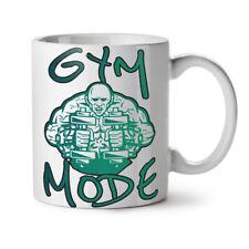 GREEN Muscle Monster Palestra modalità NUOVO White Tea Tazza da caffè 11 OZ | wellcoda