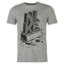 """Tee shirt NIKE gris modèle """"QTT"""" - Du S au XXL (Taille grand)"""