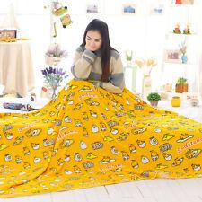 plush toy cartoon gudetama lazy Egg yolk air-condition blanket nap blanket 1pc