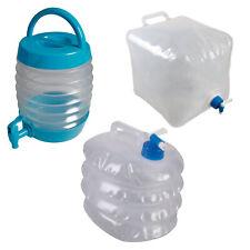 Getränkebehälter Getränkespender Wasserkanister Kanister faltbar Wasserbehälter