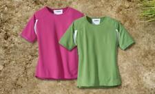 Laufshirt Shirt Sport COOLMAX  ausstattung Damen Gr S M L Rosa Grün Weiss