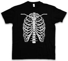 SKELETON i T-shirt Bones HALLOWEEN CARNEVALE SKULL fear the