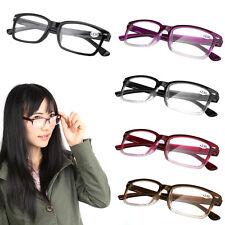 Reading Glasses Unisex Full Frame Resin Lens Ultra-light Eyewear 1.0 - 4.0