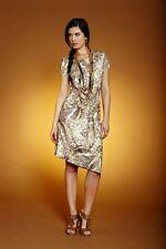 Druck-Kleid APART. Khaki-Multicolor. NEU!!! KP 89,90 € SALE%%%
