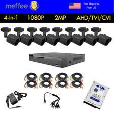 Home Security Camera System Analog HDMI AHD 8CH AHD DVR 3000TVL Outdoor CCTV 1TB