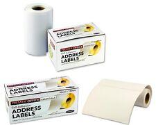Auto-Adhesivo Blanco Etiquetas De Dirección Grandes Pegatina de franqueo Adhesivas Rollo de 250 y 60