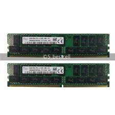 32GB 64GB 2Rx4 PC4-2133P-R DDR4 2133 MHz PC4-17000R 288PIN ECC REG Server Memory