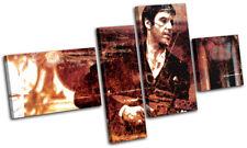 Scarface Al Pacino Movie Greats MULTI CANVAS WALL ART Picture Print VA