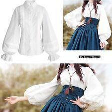 Camicia Donna Alta Qualità Manica Palloncino Woman Shirt Ball Sleeve BOSHT03