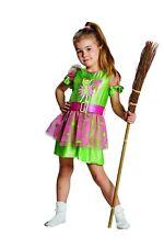 Robe Bibi Blocksberg PETIT sorcière costume d'enfants vert, rose 116,128, 140