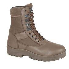 Grafters G Cadetto Esercito Force Combat Stile Militare Marrone di sicurezza alta Boot