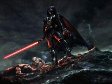 Darth Vader Stormtroopers Star Wars Movie Awesome Art Huge Print POSTER Affiche