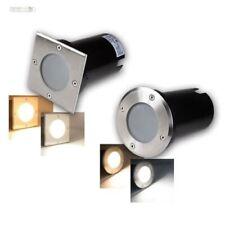 LED Projecteur Encastré au sol lampe sur Pied Inox , 3/5/7W de 230V SPOTS