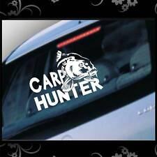 Auto Aufkleber Carp Hunter Angeln Karpfen FZ1300