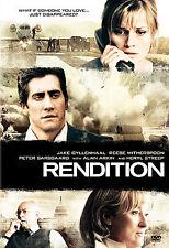 Rendition (DVD, 2008) Jake Gyllenhaal, Reese Witherspoon (J4)