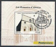 2010 ITALIA ARTE ROMANICA D'ABRUZZO ANNULLO FDC