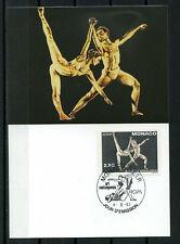 MONACO 1993 CM 1° jour, Art, EUROPA, timbre 1875