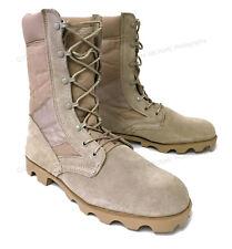 "Men's Desert Boots GI Type Tan 10"" Tactical Combat Military Work Shoes, Sizes"
