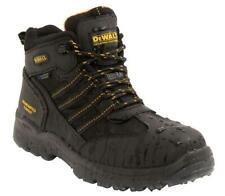 DeWALT Nickel S3 Safety Black Leather Waterproof boots & midsole uk size 6 - 12
