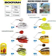 SpinnerBaits BOOYAH MICRO POND MAGIC PIKE BLACK BASS ...