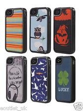 Skech Kameo Estuche Cubierta para iPhone 4/4S NUEVO RRP £ 27.99 Varios Diseños