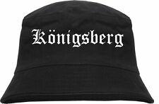 Königsberg Fischerhut - Altdeutsch - bedruckt - Bucket Hat Anglerhut Hut