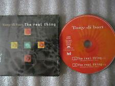 CD-TONY DI BART-THE REAL THING-DRAYTON/BLISSET-JOY BROTHE(CD SINGLE)1994-2 TRACK