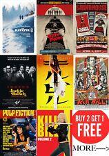 Quentin Tarantino's  Film, Movie Posters A0-A1-A2-A3-A4-A5-A6-MAXI in sizes C347