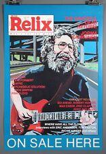 Grateful Dead's Jerry Garcia 1987 Highway Relix Poster